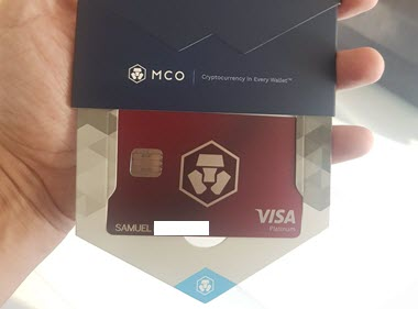Australia's MCO Bitcoin VISA Debit Card